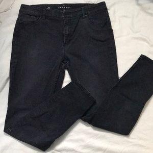 WHBM High Waist Skinny Jeans